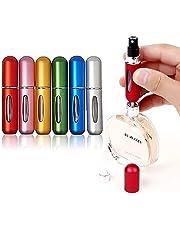 Stayoung 5ml Mini Atomizador de Perfume,4,6,8 Pack Botellas de Perfume 5ml Mini portátil de Viaje atomizador del Perfume del Aerosol de la Botella vacía