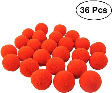 BESTOYARD Naso Clown Spugna rosso 36 pezzi