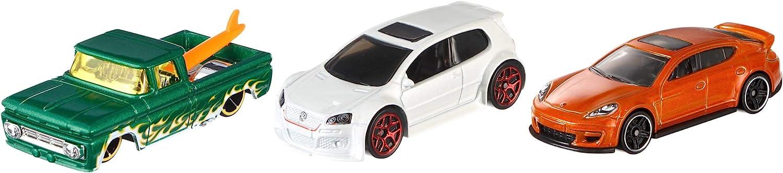 Hot Wheels Pack de 3 vehículos, coches de juguete (modelos surtidos) (Mattel K590): No Name: Amazon.es: Juguetes y ...
