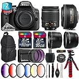 Holiday Saving Bundle for D3300 DSLR Camera + AF-S 35mm f/1.8G DX Lens + AF-P 18-55mm + 6PC Graduated Color Filter Set + 2yr Extended Warranty + 32GB Class 10 Memory Card - International Version