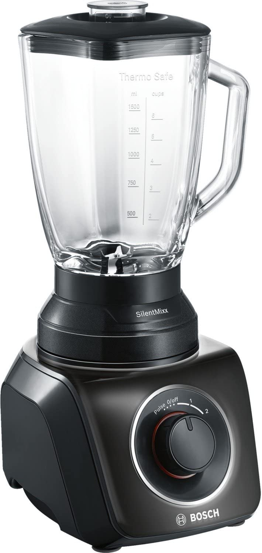 Bosch MMB42G0B SilentMixx Batidora de vaso, 700 W, color negro