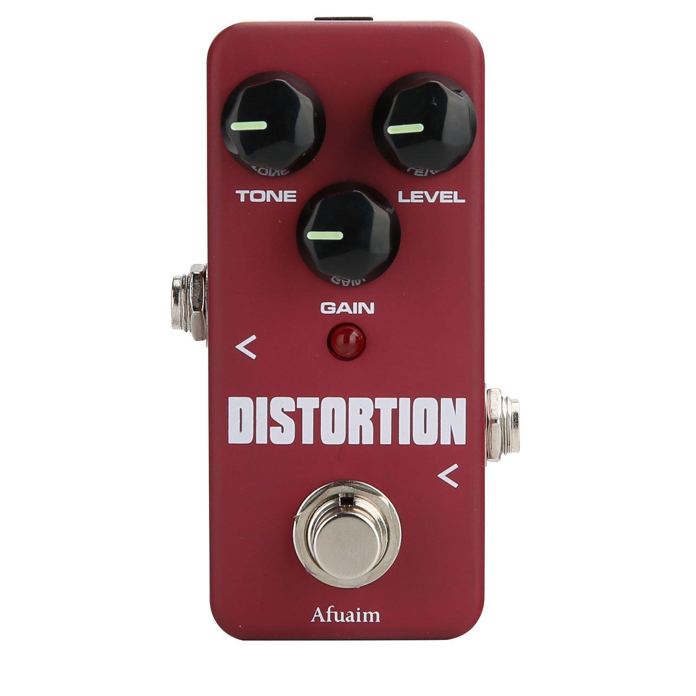 Afuiam Distortion Guitar Effect Pedal High Degree Distortion True Bypass