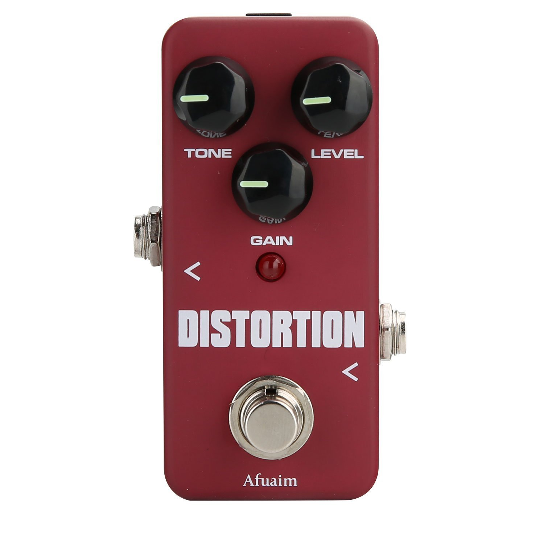 Afuiam Distortion Guitar Effect Pedal High Degree Distortion True Bypass by Afuaim