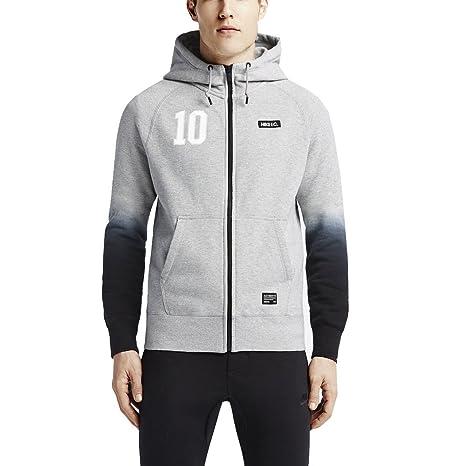 The Nike F.C. AW77 Full Zip Men's Hoodie.