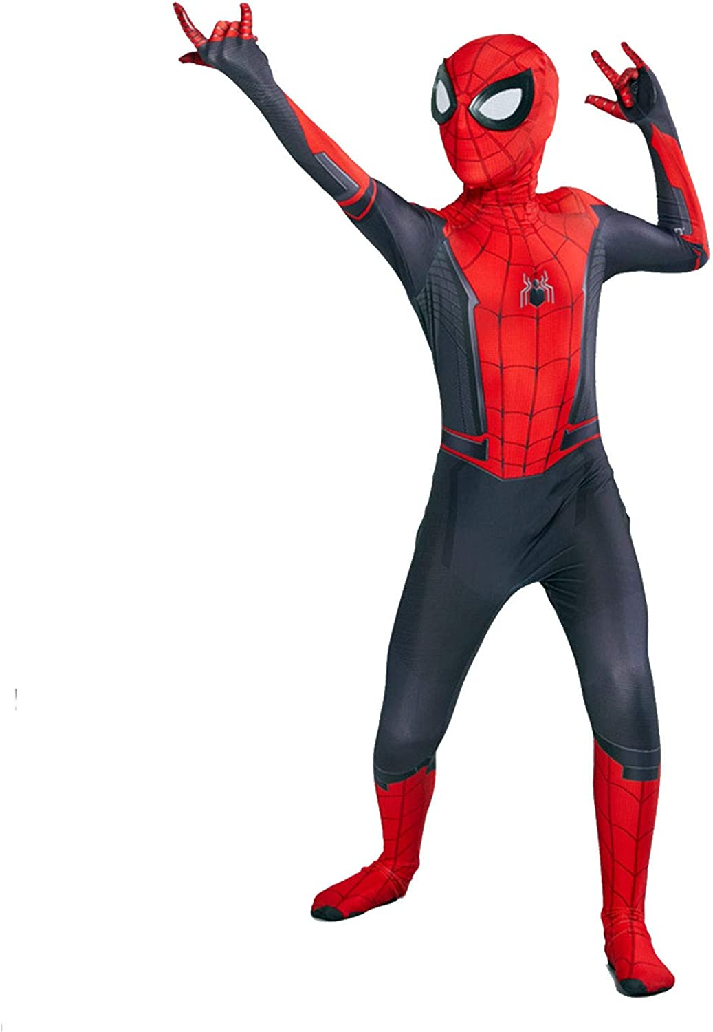 lkjhgf Kids Superhero Suits Halloween Cosplay Costumes 3D Style