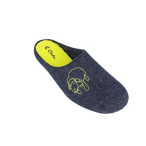 Costa H608-104, Zapatillas de Estar por Casa con Talón Abierto para Hombre: Amazon.es: Zapatos y complementos