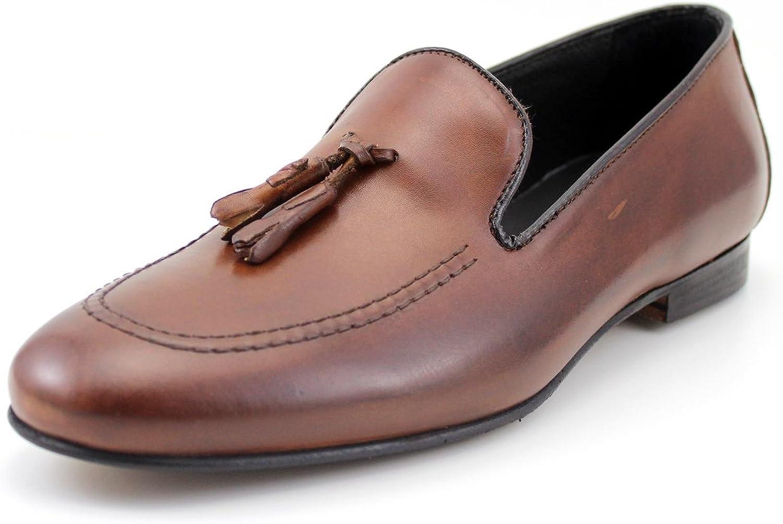 Zapatos para Hombre Giorgio rea Mocasines Belgian Loafers Zapatos para Hombre Hechos a Mano en Italia