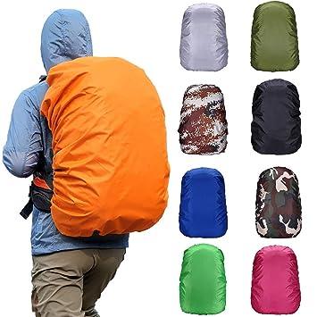 Waterproof Dust Rain Cover Backpack Travel Camping Hiking Outdoor Rucksack Bag