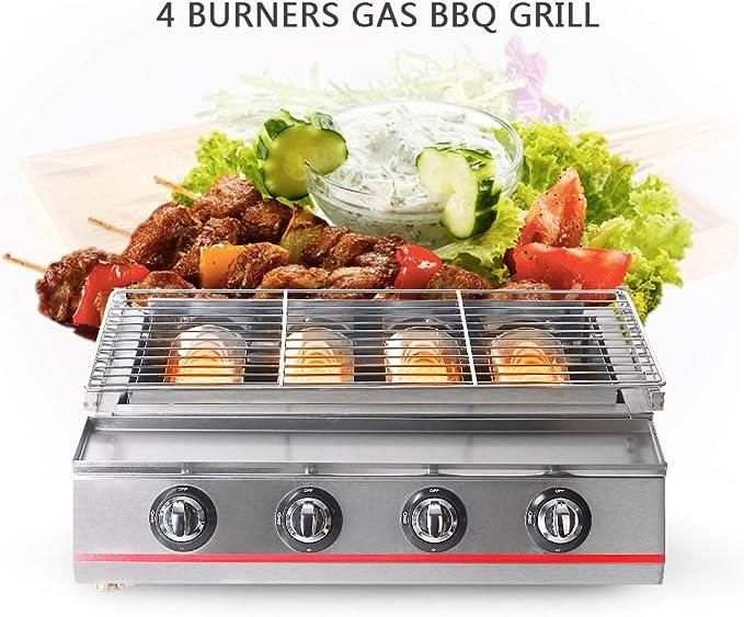 Itop 4 grabadora Gas barbacoa Barbecue entrega rápida camping ...