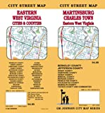 Martinsburg / Charles Town / Eastern West Virginia Street Map