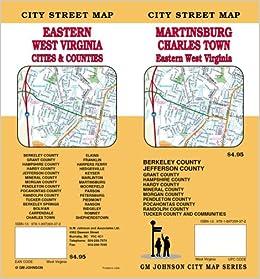 Martinsburg / Charles Town / Eastern West Virginia Street Map: GM ...