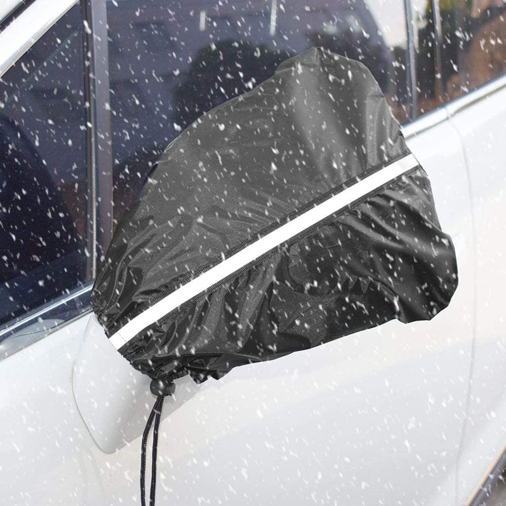 Auto Side Mirror Protect Cover Riosupply Snow and Ice Mirror Covers Anti Bird Poop Cover Universal Size Fits Cars SUV Truck Van Frost Guard for Cars-2 Pack