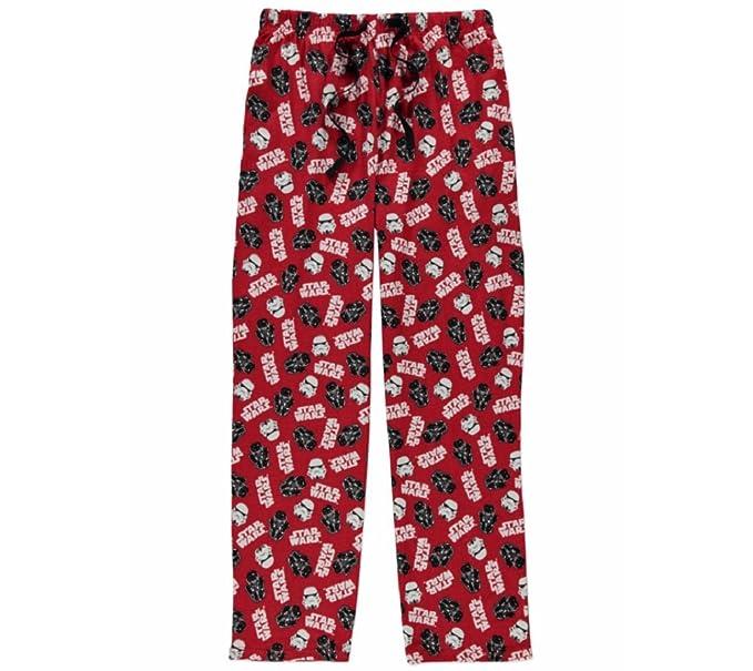 Star Wars - Pantalón de pijama - para hombre rojo rosso