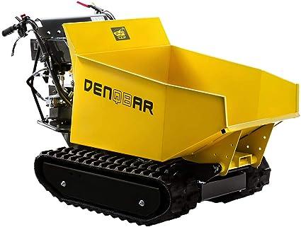 Mini Dumper Denqbar Brouette à Chenilles Avec 500 Kg Amazon Fr Bricolage