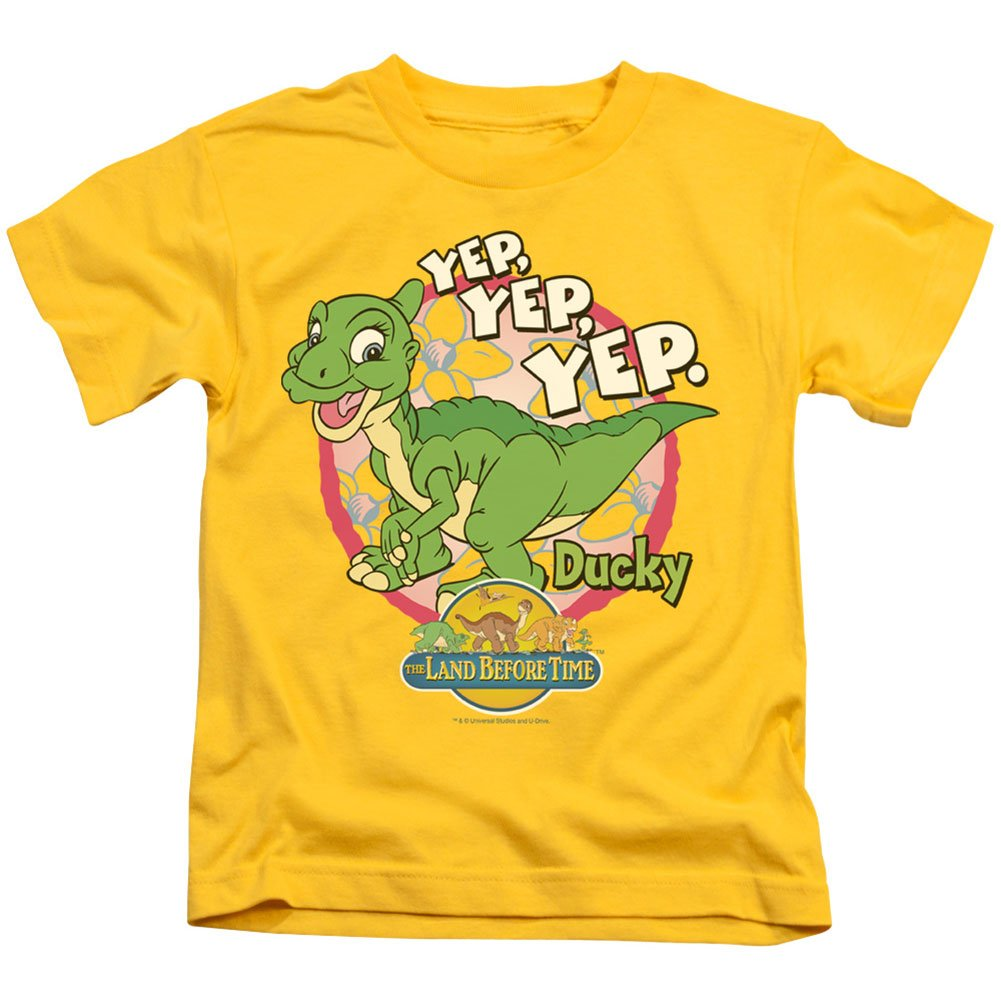 Land Before Time Ducky Little Boys Shirt Trevco