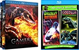 Gamera Triple Feature (Guardian of the Universe / Attack of the Legion / Revenge of Iris) and Godzilla vs Destroyoyah & Godzilla vs Megaguirus 5-Movie Bundle