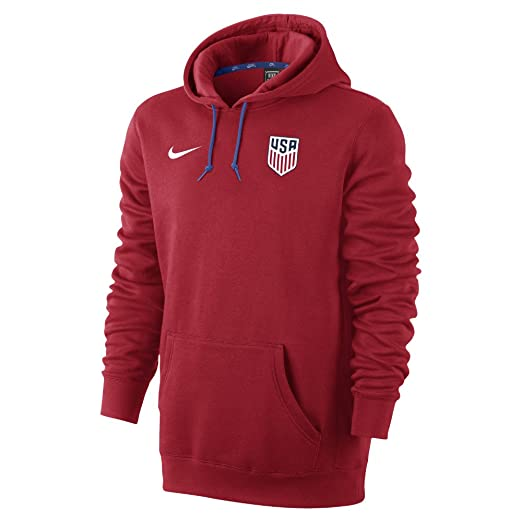 2169d5bd14 Amazon.com  Nike USA Core Hoody-UNIVERSITY RED  Sports   Outdoors