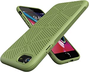 TPU Compatible with iPhone 7/8 Phone Cooling Case,Mesh Breathable Heat Dissipation Phone Case Compatible with iPhone 7/8 4.7 Inch