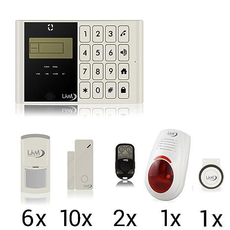 LKM Security M2 C Lite Alarma Juego? 21 piezas? GSM - Casa ...