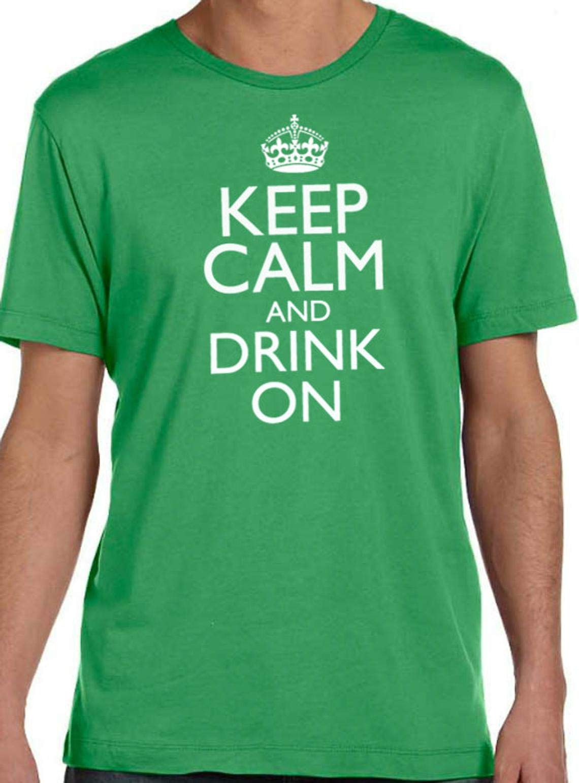 Ebollo S Keep Calm And Drink On Husband Gift St Patricks Day Party T Shirt Irish Gift 7113