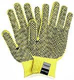 Cut Gloves, M, Yellow/Blk, 3 Cut Level, PK12