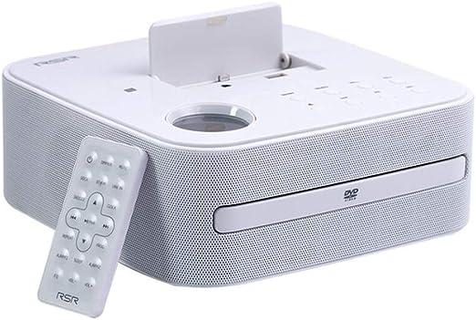 Q&M - Radiodespertador con Reproductor de DVD y CD (Radio FM ...