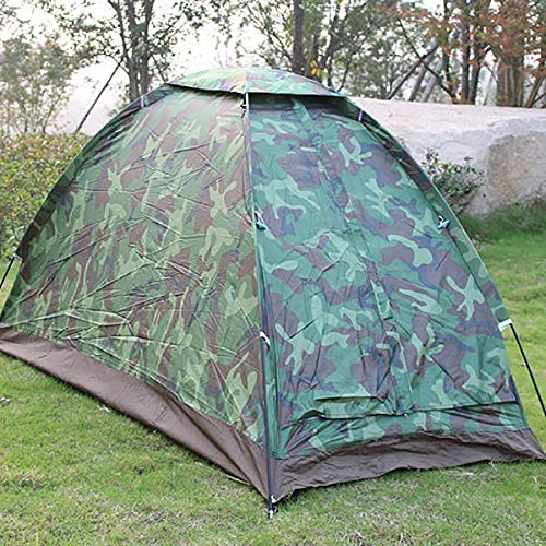 Summerwindy 1-Person Tent Outdoor Camping Tent Camouflage Tent Outdoor Hiking Travel Camping Napping Tent