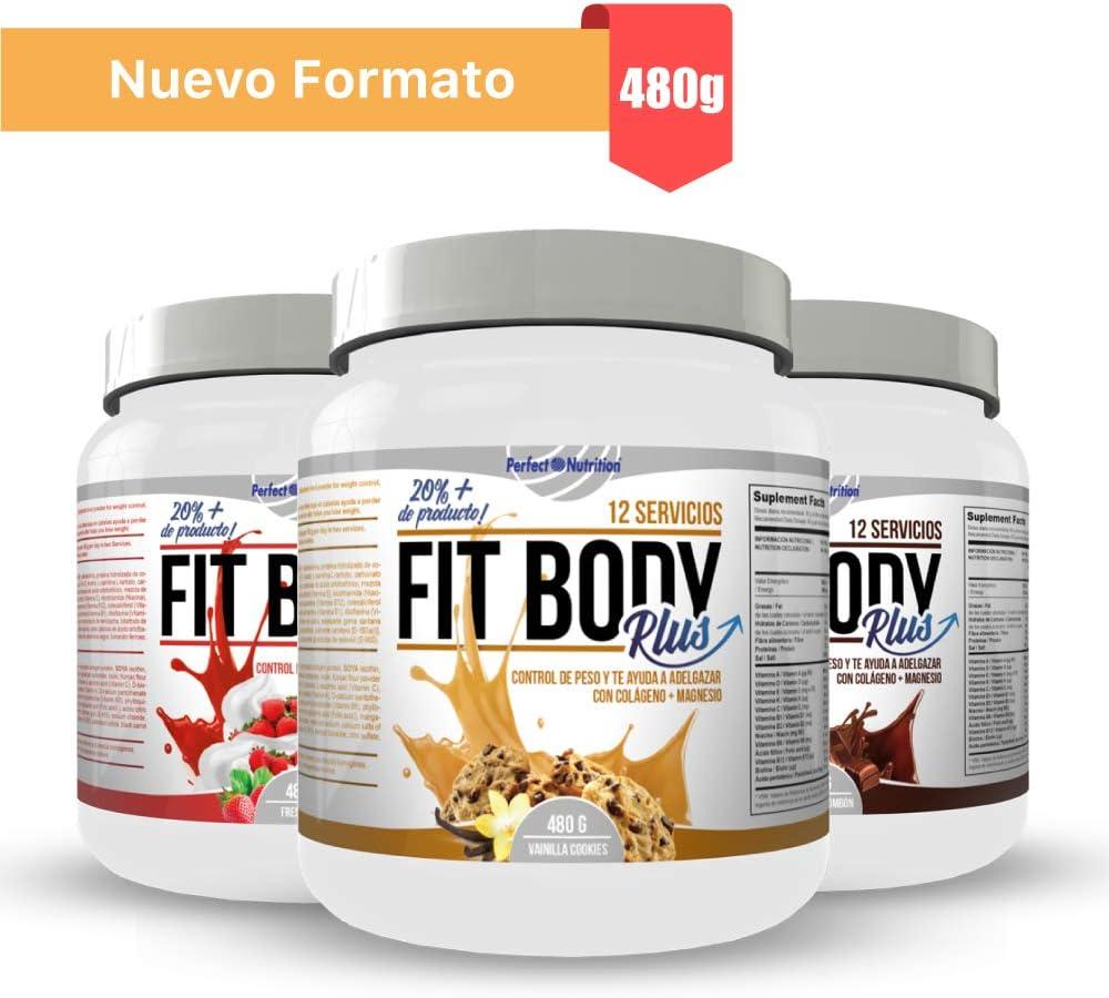 Pack adelgazamiento : Batido sustitutivo de comida + quema grasas termogenico dieta hombre y mujer (Vainilla - Cookies, 480gr)
