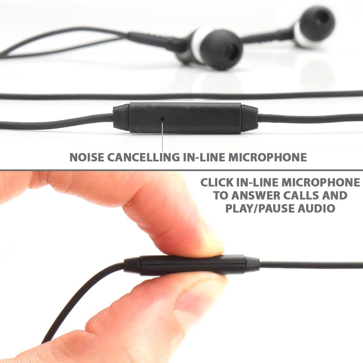 GOgroove Auriculares Micrófono y Reducción Ruido (Madera de Nogal): Amazon.es: Electrónica