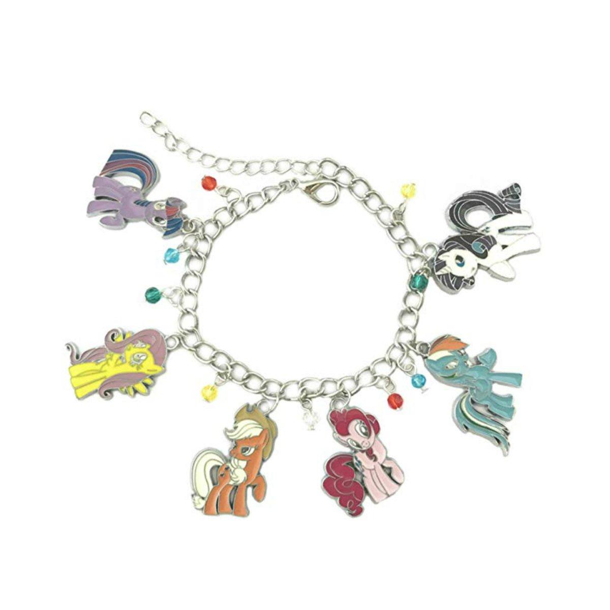 US FAMILY My Little Pony: Friendship is Magic Cartoon Theme Multi Charms Jewelry Bracelets Charm by Family Brands