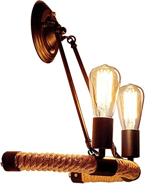 Large Black Rustic Lantern Wall Light Country Sconce price is for 2 sconces