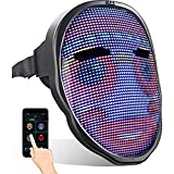 LED Mask with Programmable, Bluetooth Mask, Full