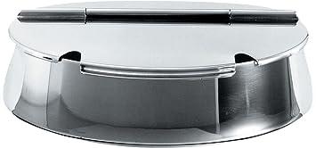 Alessi Zuckerdose alessi zuckerdose oval aus edelstahl amazon de küche haushalt