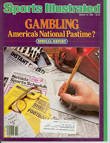 1986 Sports Illustrated March 10 Gambling : Anerica's National - Anericas Las