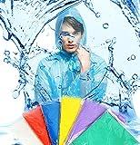 Regenponcho Poncho Einweg Multipack Regenschutz 5er Set