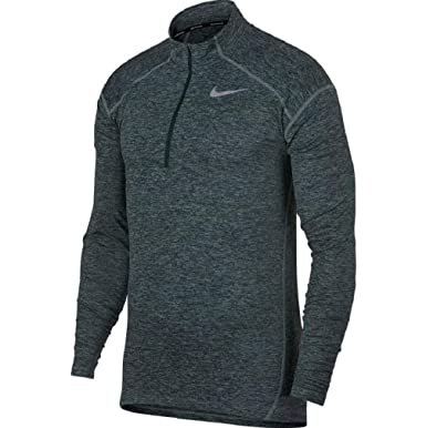 innovative design 8a731 b093a Image Unavailable. Image not available for. Color  NIKE Mens Dri-Fit Element  1 2 Zip Running Top ...