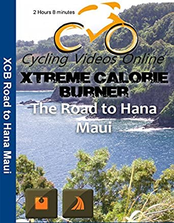 Extreme Calorie Burner the Road Hana Maui. Virtual Indoor Cycling Training / Spinning Fitness and Weight Loss Videos by Paul Gallas: Amazon.es: Paul Gallas: Cine y Series TV