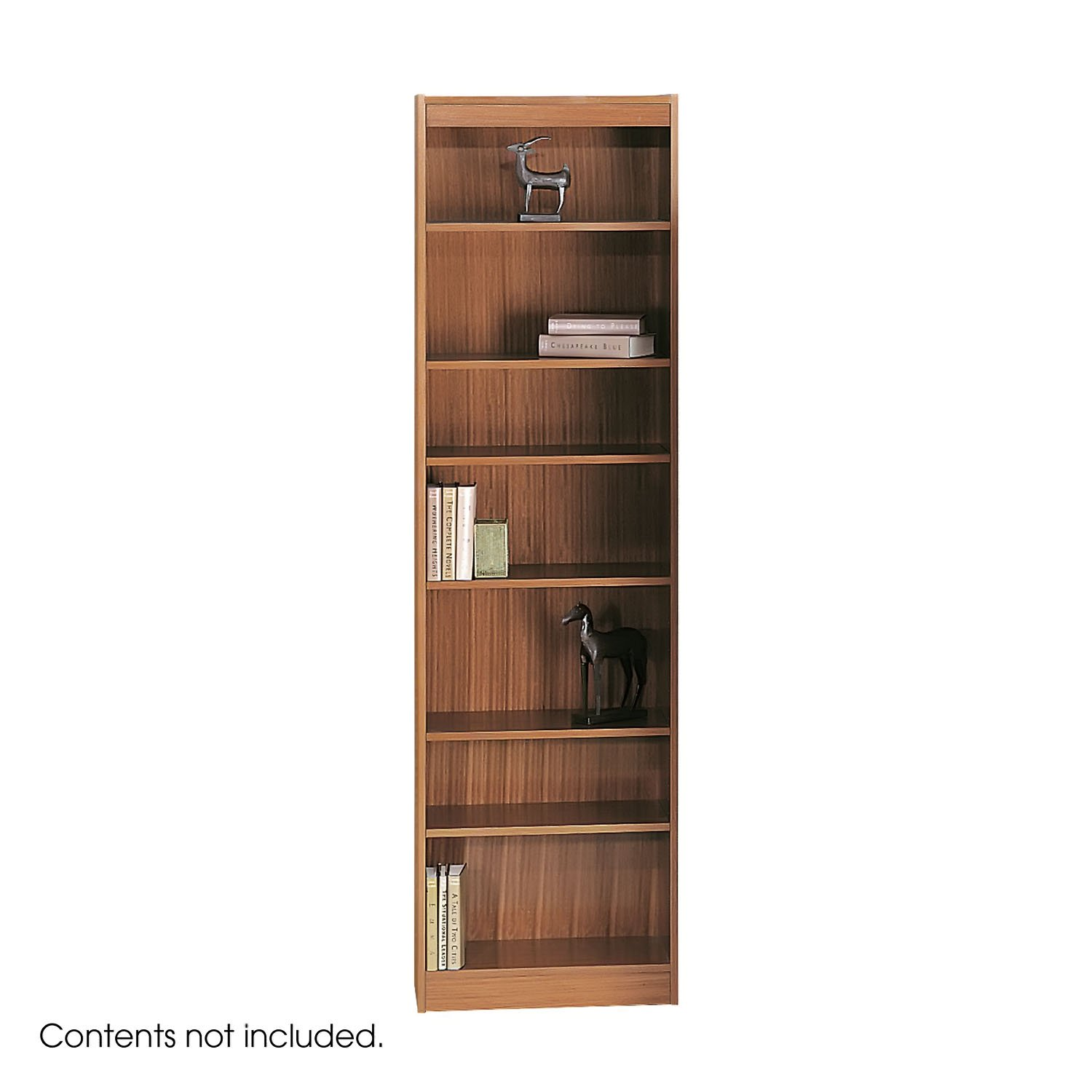 safco products 1515mhc baby bookcase 7 shelf 24