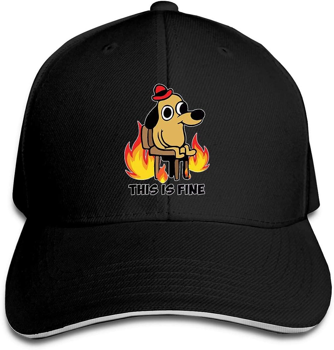United States Service Dogs Snapback Sandwich Cap Adjustable Baseball Hat Trucker Cap