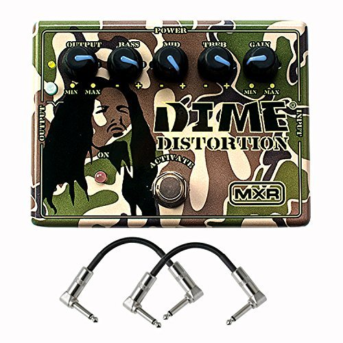 Distortion Effects Pedal With a Pair of Patch Cable ()
