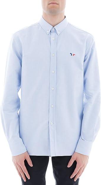 Maison Kitsuné Camisa Casual - para Hombre Azul Claro Talla ...