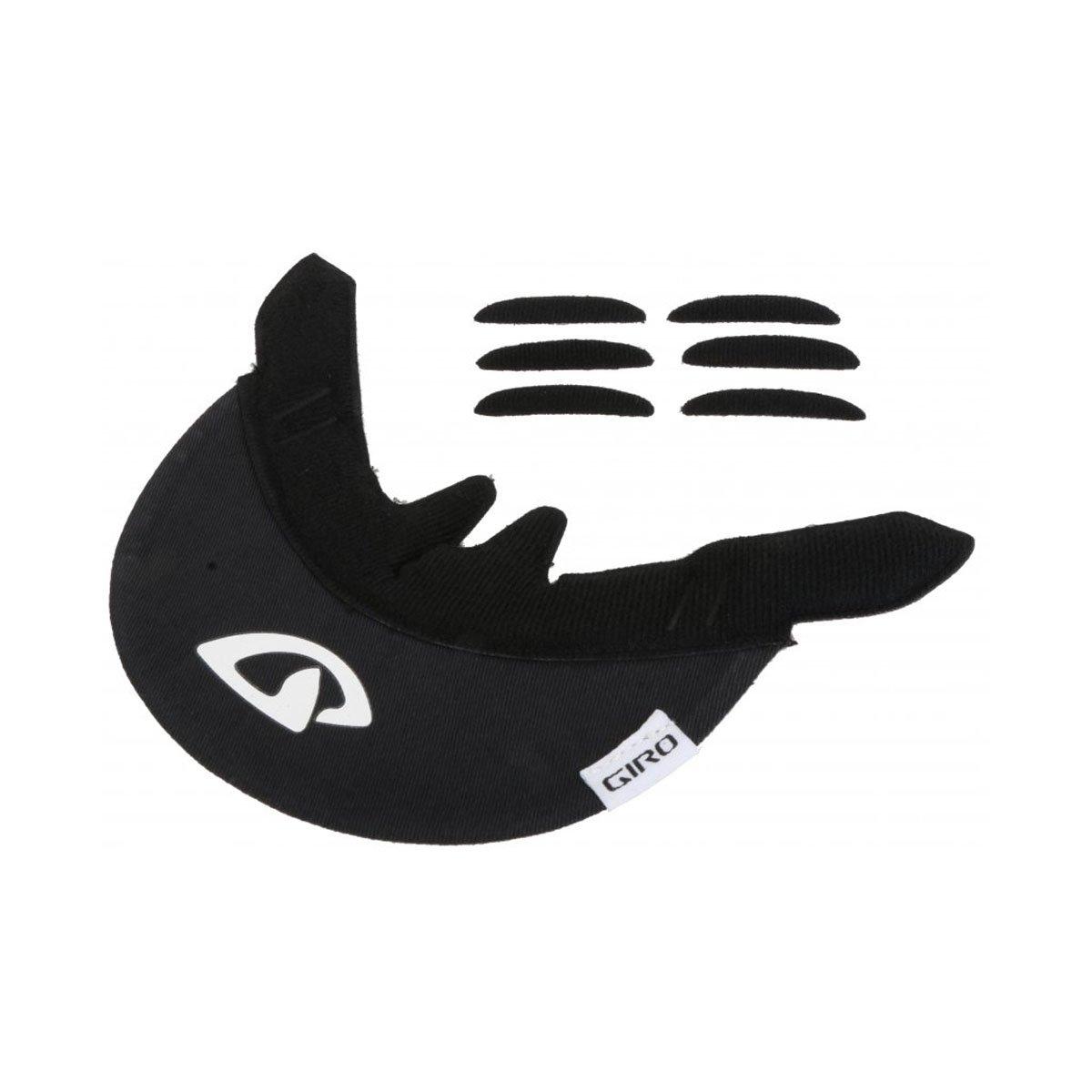 Giro Bicycle Helmet Replacement Cloth Visor (Black)