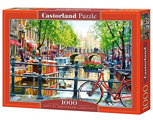 Castorland C-103133-2 - Amsterdam Landscape, 1000-teilig, Klassische Puzzle