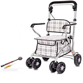 Amazon.com : Effortsmy Steel Foldable Shopping Cart ...