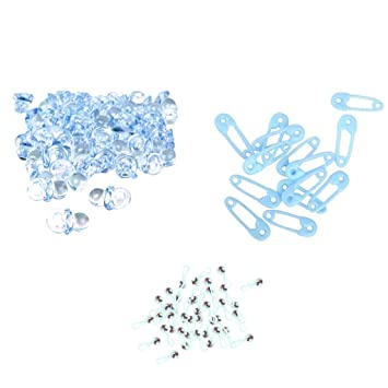 Gazechimp 150pcs Mini Traqueteos Imperdibles Mini Pin de Seguridad y ...