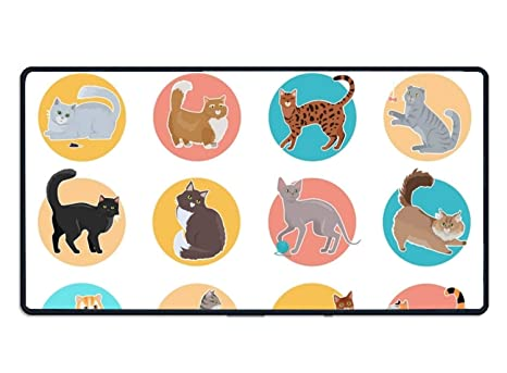 Amazon com : Non Slip Collection of Icons Mouse Pad for