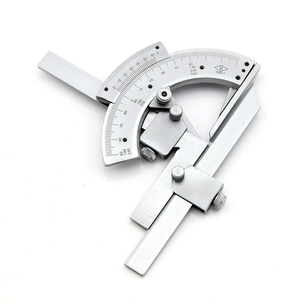 Agile shop 0 320 universal stainless steel vernier bevel protractor precision angle measuring finder ruler tool amazon com