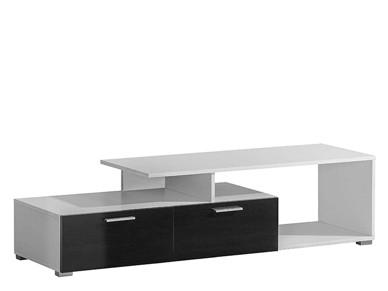 Fernsehschrank Sideboard TV-Tisch TV Möbel weiß/weiß ...