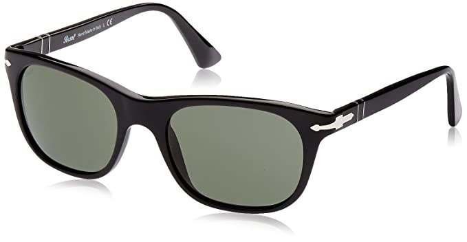 55e00b179f Amazon.com  Persol 95 31 Black Po 3102s - Black Sunglasses  Persol ...