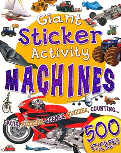 Book Giant Sticker Activity Machines (Giant Sticker Books)